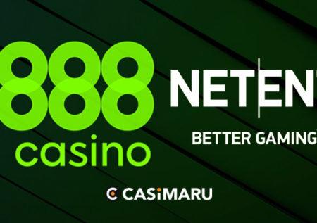 パートナーシップ締結|888でNetEntのライブゲームがプレイ可能に
