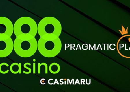 再び!パートナー拡張|888でPragmatic Playのゲームが追加