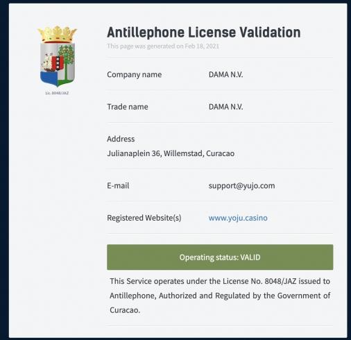 yoju-license