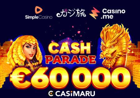 賞金総額€60,000|カジ旅系列、一挙トーナメントスタート