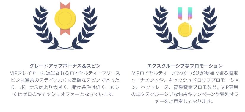 カジノフライデーのVIP1