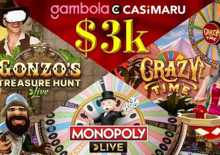 抽選会|ギャンボラでライブカジノをプレイしよう