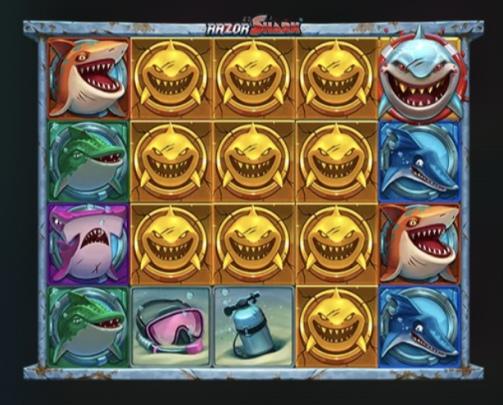 レイザーシャークの金サメ