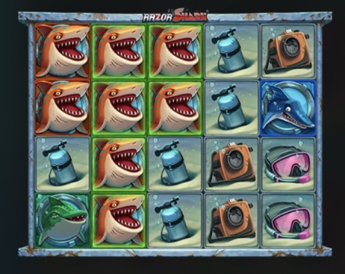 レイザーシャークのサメ